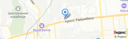 СТО на 100% на карте Алматы