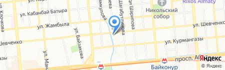 Linde Gas Kazakhstan на карте Алматы