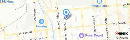 Доктор Балжанов и К на карте Алматы