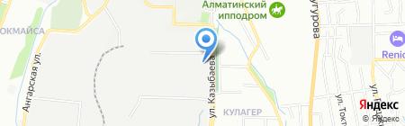 РОС и К на карте Алматы