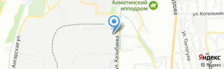 СпецХимСнаб ЮС на карте Алматы