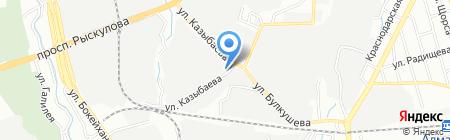АзАль счетчики и проектирование на карте Алматы