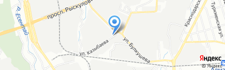 Анко на карте Алматы