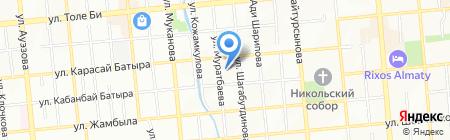КазБизнесПартнер на карте Алматы