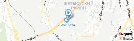 Азия Шина на карте Алматы
