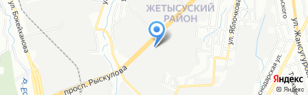 Алтын Дала 2006 на карте Алматы