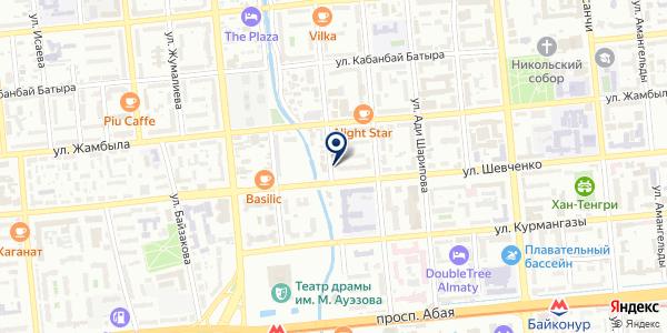 DADI на карте Алматы