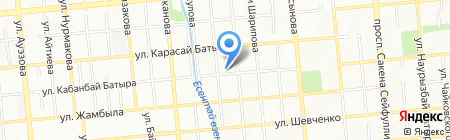 Латифа на карте Алматы