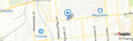 Нордик на карте Алматы