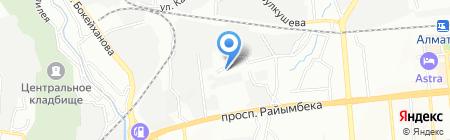 Эвакуационная компания на карте Алматы