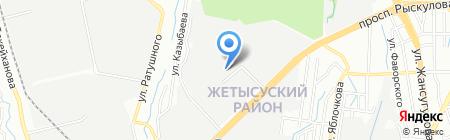 Bakaitau на карте Алматы