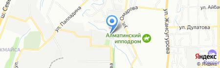 Жоларыс-Азия на карте Алматы