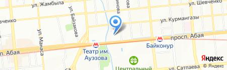 Denta-best I.M. на карте Алматы