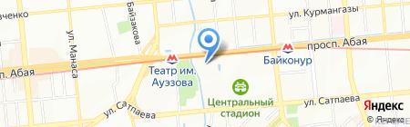 Биранкай Казахстан на карте Алматы