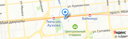 Barracuda на карте Алматы