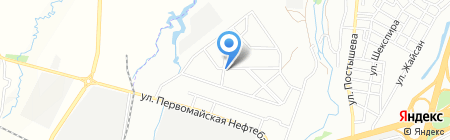 Асем-Кокжиек на карте Алматы