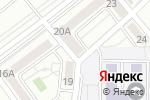 Схема проезда до компании Береке в Алматы