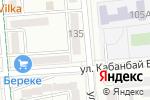 Схема проезда до компании Жанель в Алматы