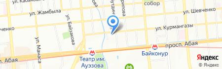 Ассоциация родителей детей-инвалидов на карте Алматы