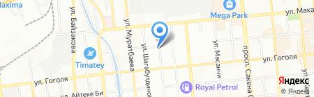KAZLED на карте Алматы