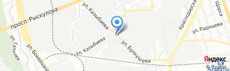 MebeX на карте Алматы
