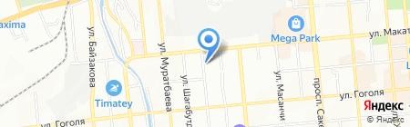 Abultayev Auto Service на карте Алматы