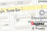 Схема проезда до компании Стоматологическая клиника доктора Битекеновой в Алматы