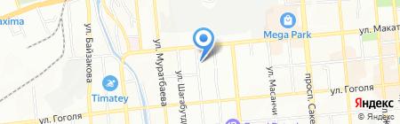 Инновация ТОО на карте Алматы
