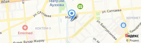 ЦЕНТР ТЯЖЕСТИ Маркет на карте Алматы