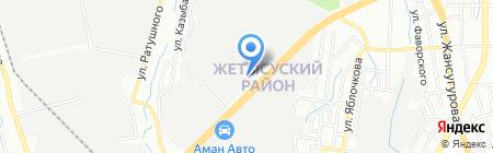 Вега на карте Алматы