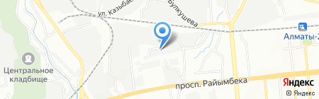 Zhebe Logistic на карте Алматы