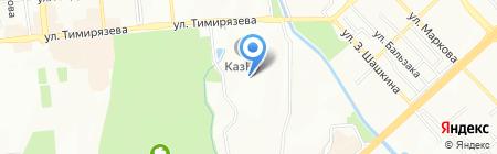КазНУ на карте Алматы