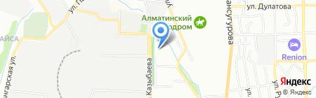 Ясли-сад №176 на карте Алматы