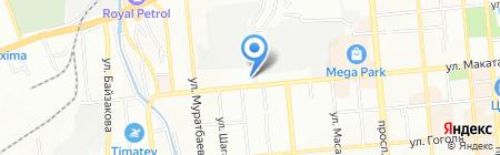 Пожарная часть №3 Алмалинского района на карте Алматы