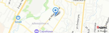 С-Алмаз на карте Алматы