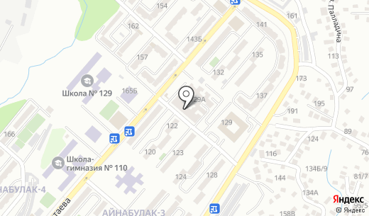 С-Алмаз. Схема проезда в Алматы