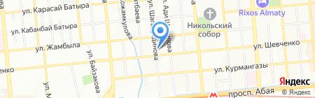 Тимур на карте Алматы