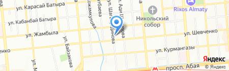 Тепломонтаж на карте Алматы