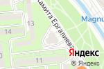 Схема проезда до компании Agilent Service в Алматы