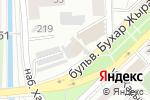 Схема проезда до компании Камелот в Алматы