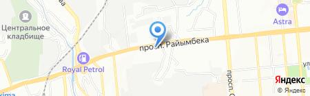 Ветеринарная аптека №1 на карте Алматы