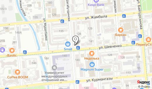 Праздник вкуса. Схема проезда в Алматы