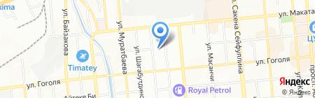 Республиканский межотраслевой центр по внедрению информационных технологий на карте Алматы