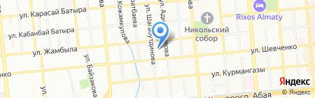 Профит на карте Алматы