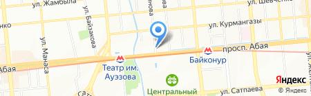 Forte на карте Алматы