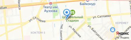 Киiкбай Строй Сервис на карте Алматы