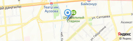 Нотариус Попова Н.И. на карте Алматы