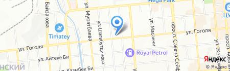 КазМКПУ на карте Алматы