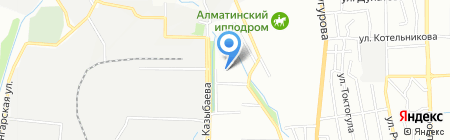 Школа-гимназия №148 на карте Алматы