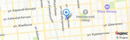 Maestro на карте Алматы